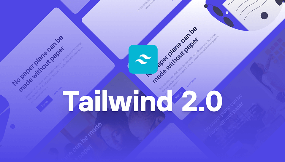 Plain Tailwind CSS
