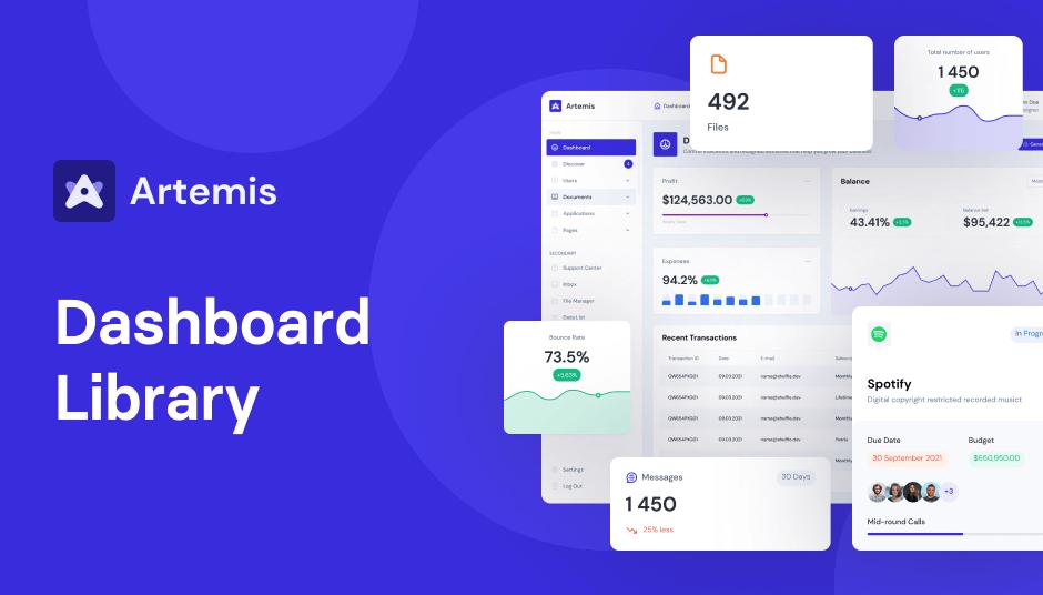 Artemis Dashboard UI Library