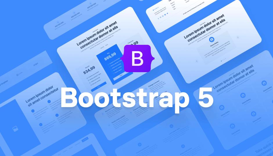 Plain Bootstrap 5